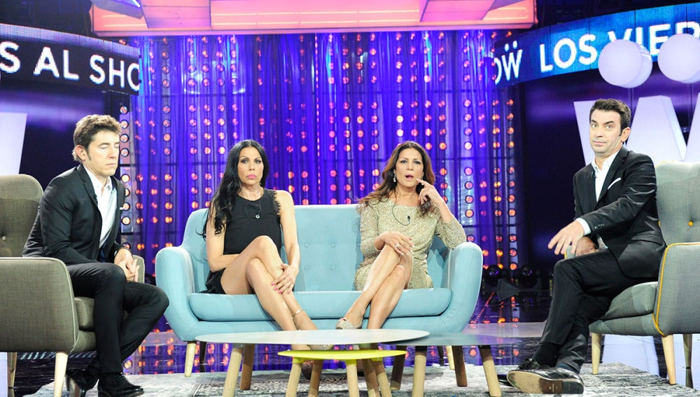 Azúcar Moreno en Los Viernes al show