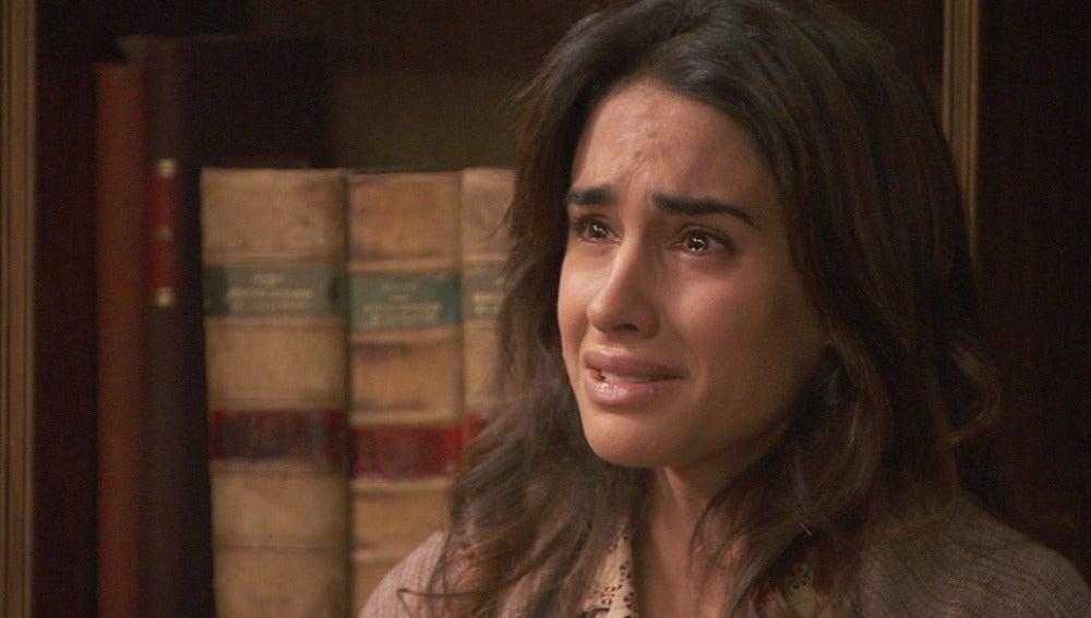 Francisca se sorprende al saber que Inés está embarazada de Bosco