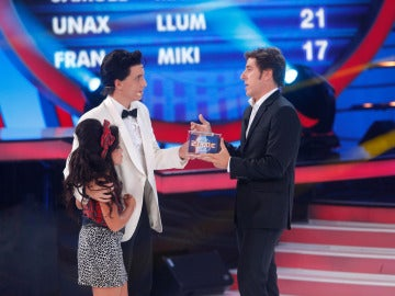 Abril gana la novena gala de Tu cara me suena Mini imitando a Amy Winehouse