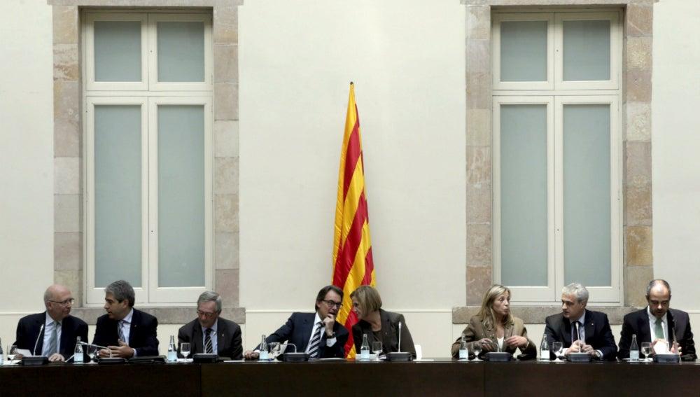 Artur Mas y Nuria de Gispert