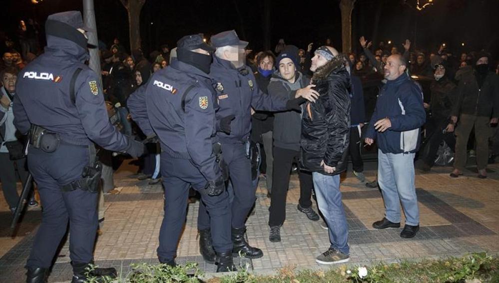 Disturbios en el barrio de Gamonal