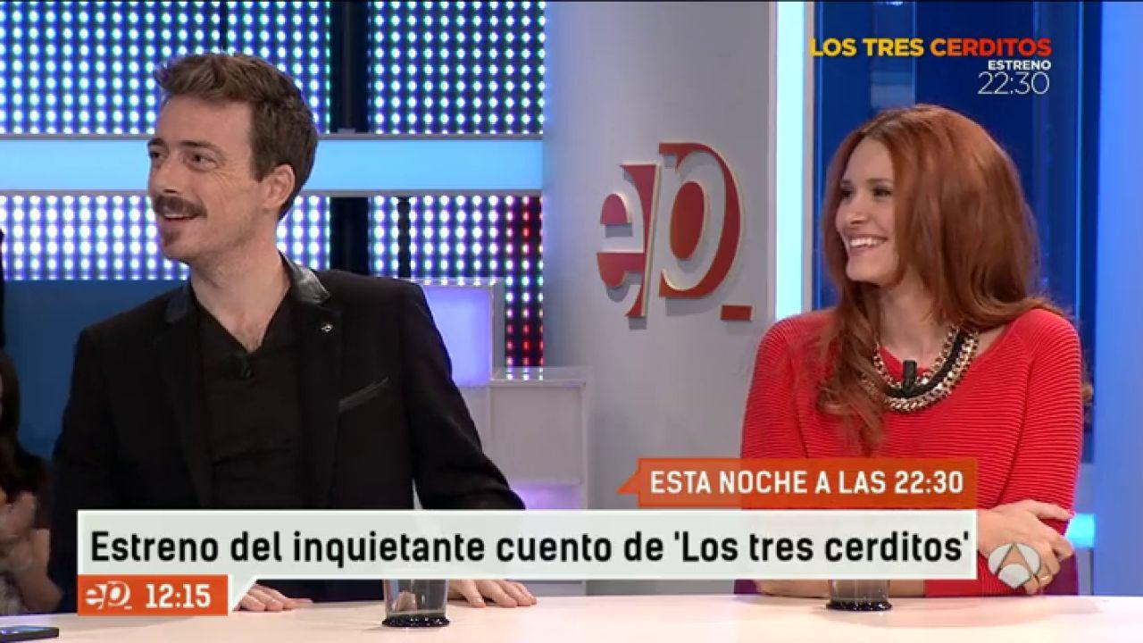 Elena ballesteros y v ctor clavijo protagonizan los tres for Espejo publico hoy completo