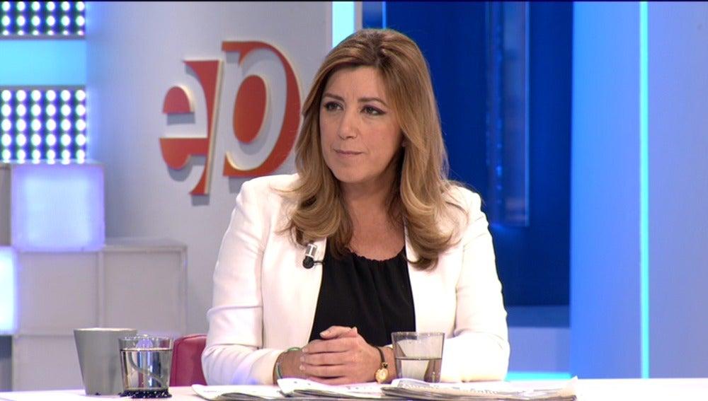 Susana Díaz en Espejo Público