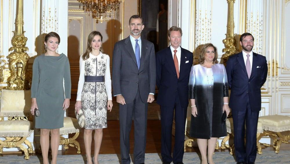 Los Reyes visitan Luxemburgo