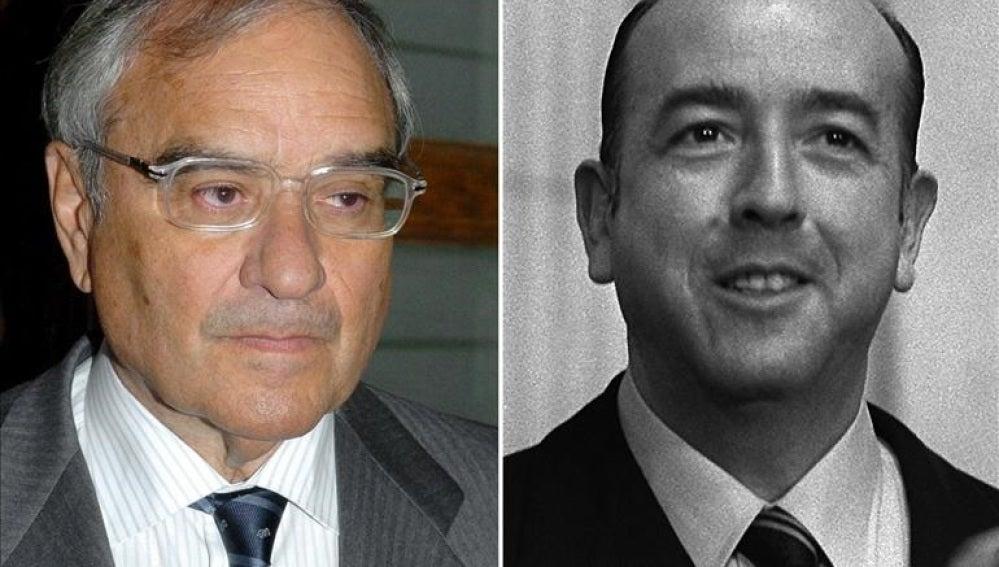 El exministro de la transición Rodolfo Martín Villa y el exministro franquista José Utrera Molina