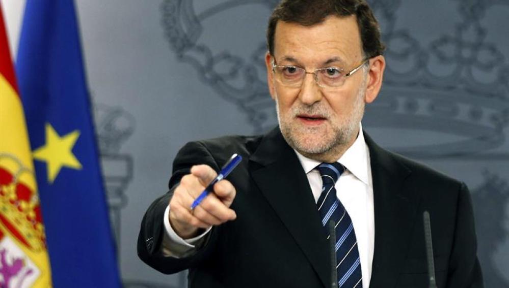 """Mariano Rajoy responde a Artur Mas: """"El 9N ha sido un fracaso"""""""