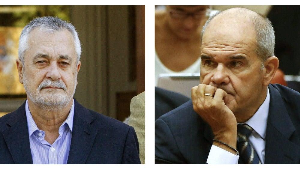 El Supremo abre causa contra Chaves y Griñán