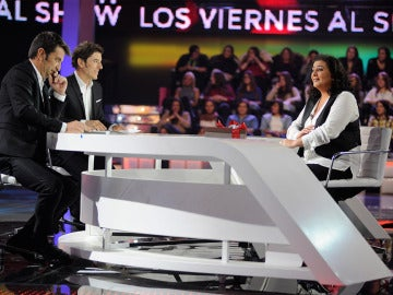 Entrevista a María del Monte en 'Los viernes al show'