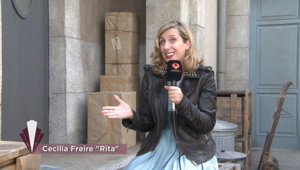 """Cecilia Freile: """"Todo lo bueno que pasa en estas galerías es gracias a Rita"""""""