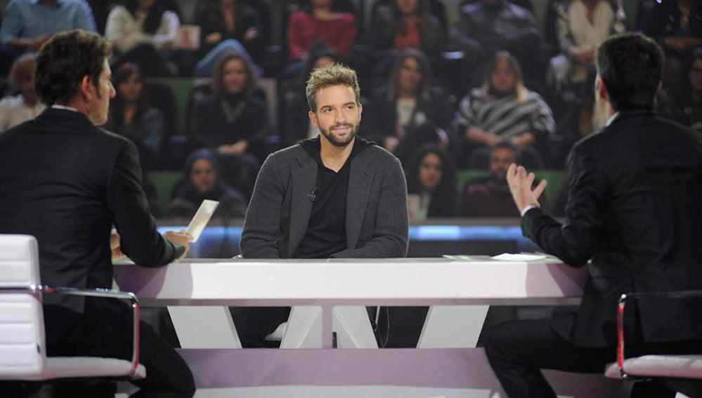 Entrevista a Pablo Alborán en Los viernes al show