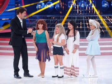 Carla, Nayra, Abril y Julia pasan a la final de Tu cara me suena Mini