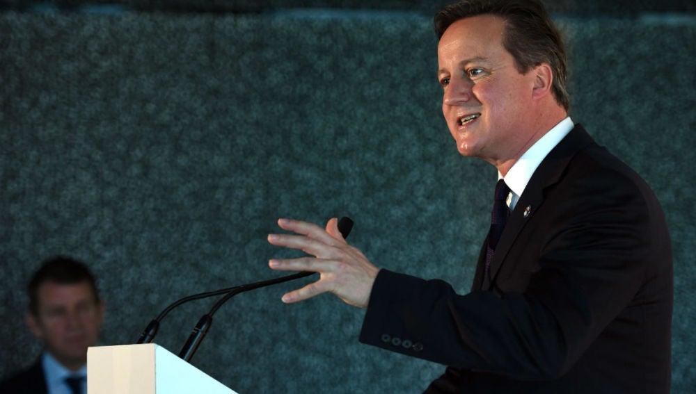 David Cameron en Sidney
