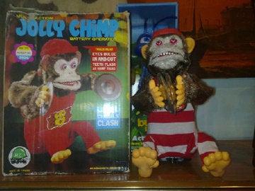 Terrorífico chimpancé