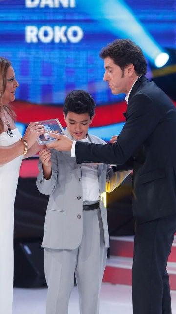 Samuel y María del Monte ganan el décimo programa de Tu cara me suena Mini