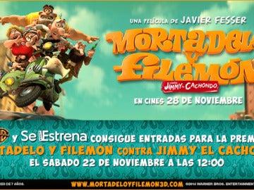 Te invitamos al preestreno de 'Mortadelo y Filemón contra Jimmy El Cachondo'