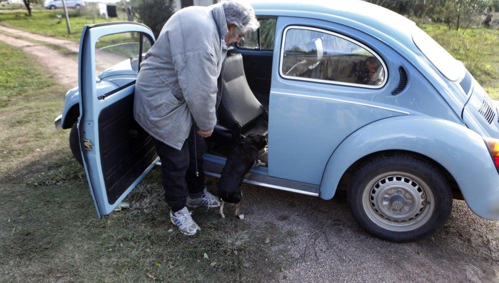 José Mujica y su Volkswagen de 1987