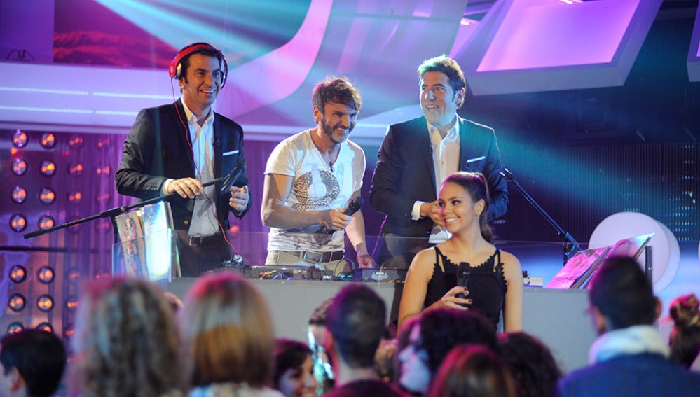 Fernado Tejero en Los viernes al show