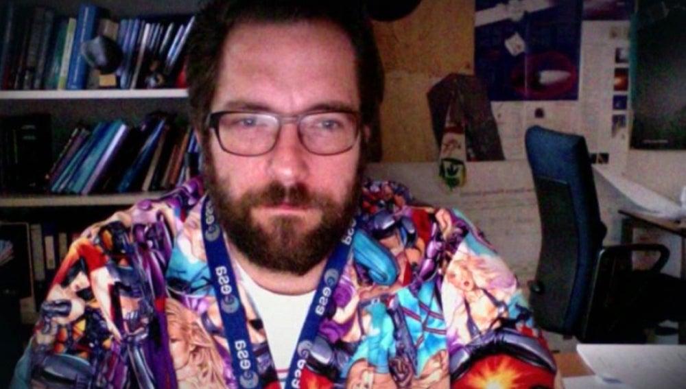 El extrafalario científico del Rosetta