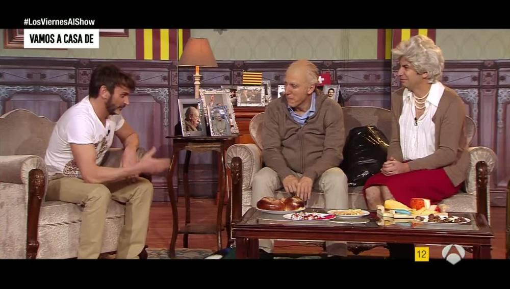 Fernando Tejero y los Puyol