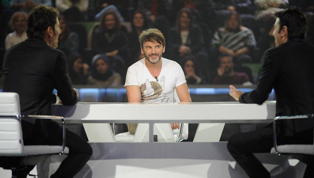 Fernando Tejero en Los viernes al show