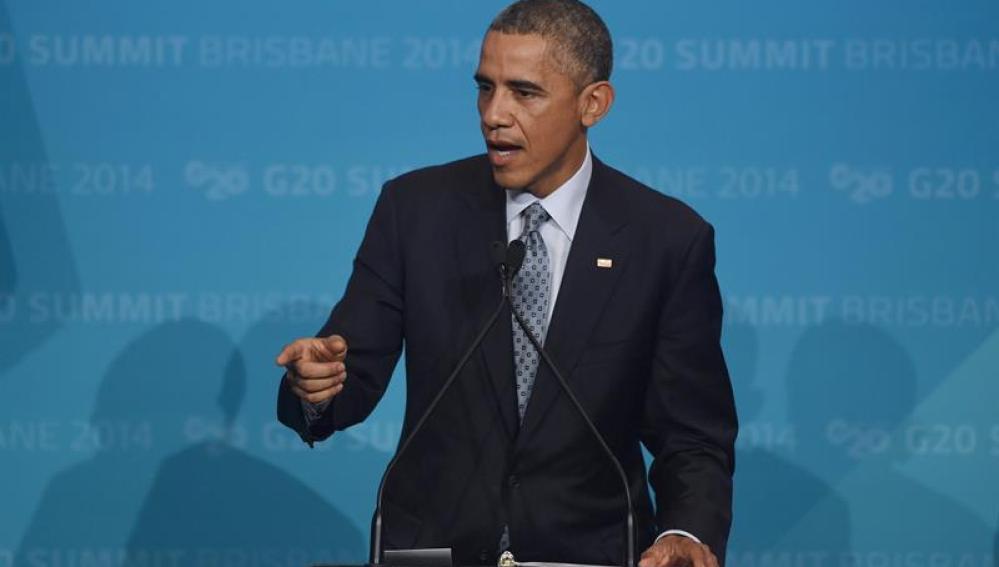 Obama en la cumbre del G-20