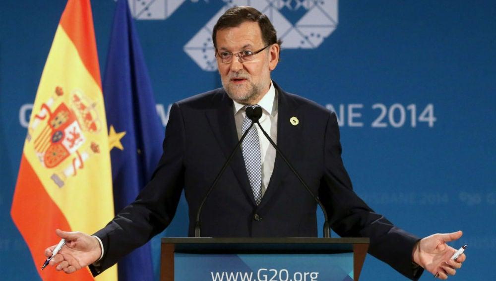 Mariano Rajoy en Brisbane