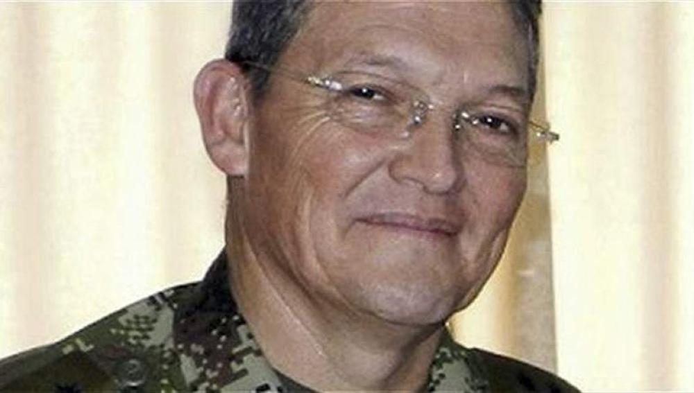 El general del Ejército Rubén Darío Alzate Mora