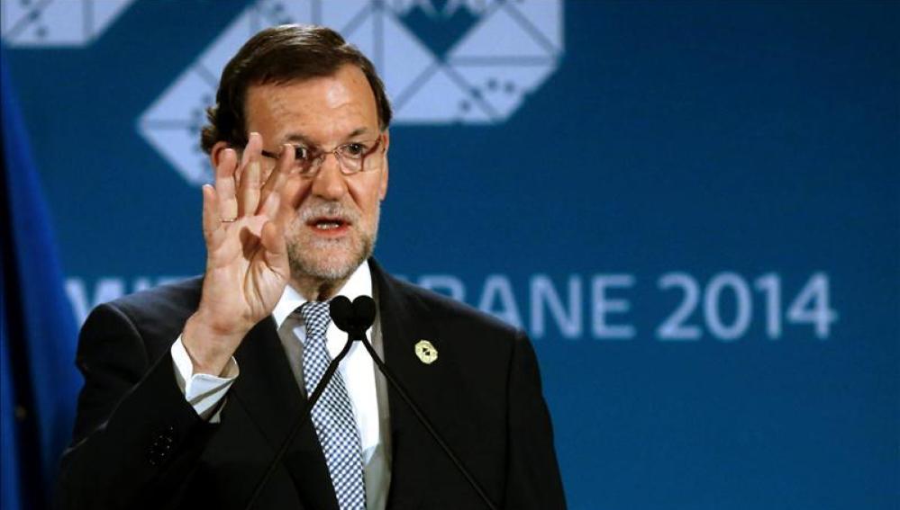 Rajoy habla desde Australia