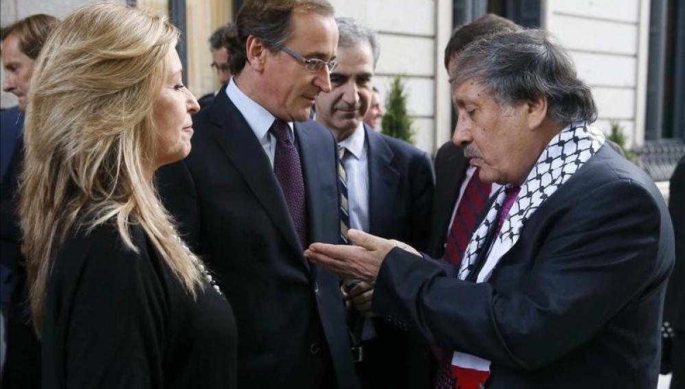 PP y PSOE conversan con el embajador de Palestina en España