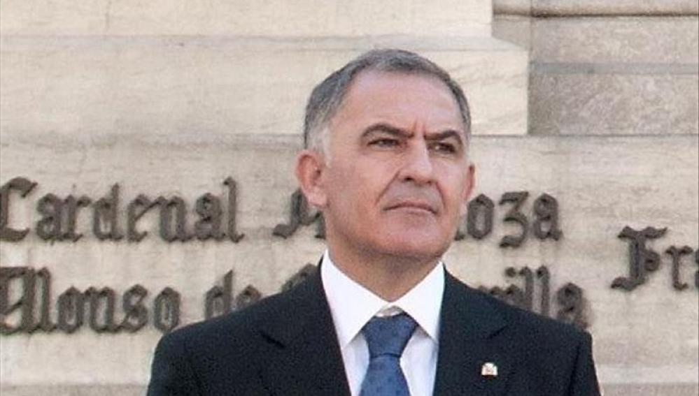 El subdelegado del Gobierno en Granada, Santiago Pérez