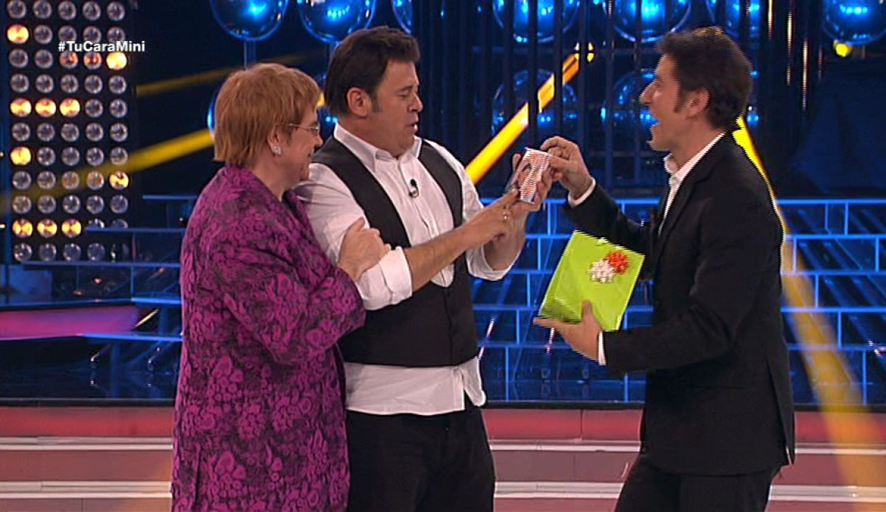 Miki Nadal gana el premio al artista revelación de Tu cara me suena Mini