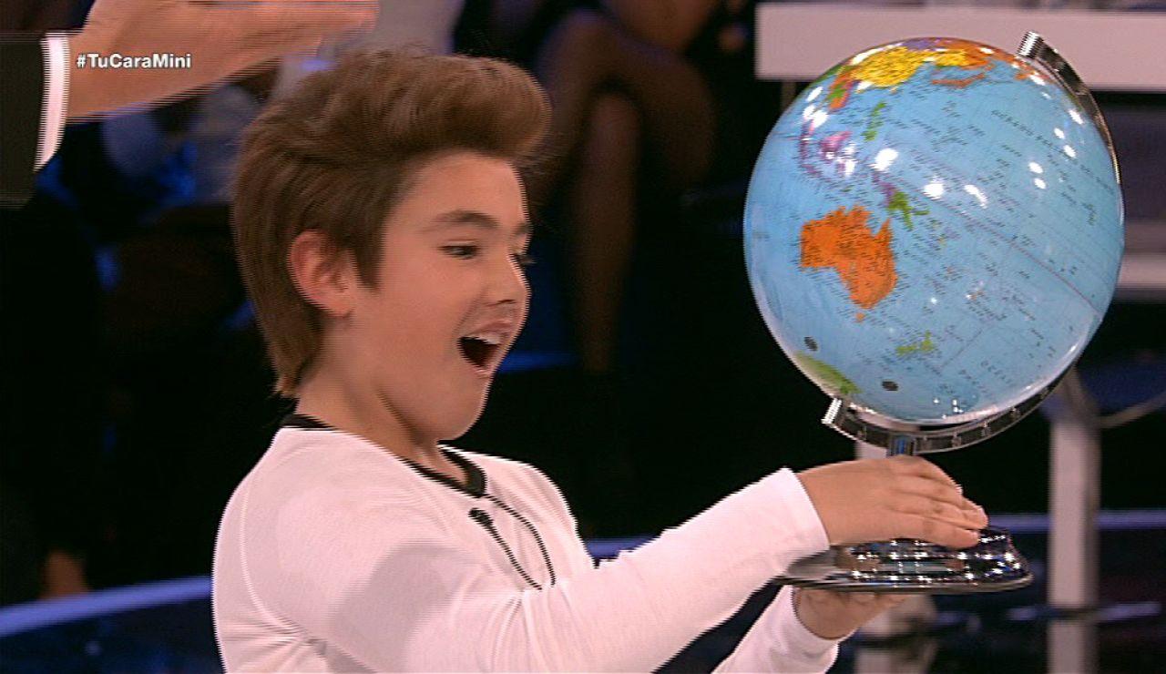 Samuel gana el premio a mejor VO de Tu cara me suena Mini
