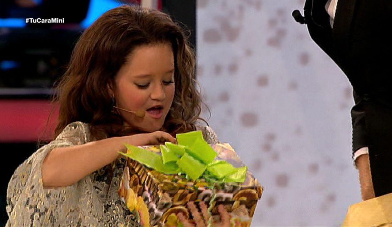 Nayra gana el premio vive bailando de Tu cara me suena Mini
