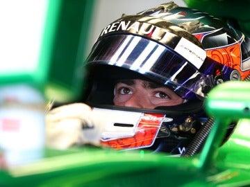Will Stevens, en los test de Caterham en Silverstone