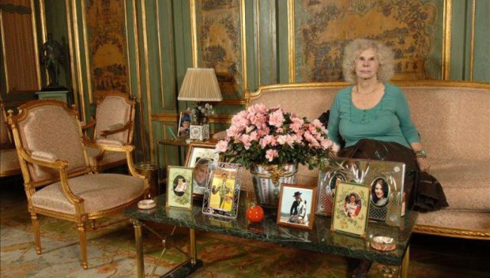 La Duquesa de Alba, en el Palacio de Liria