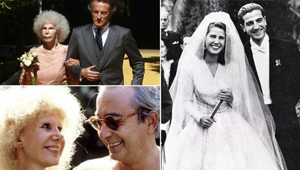 Los maridos de la duquesa de Alba