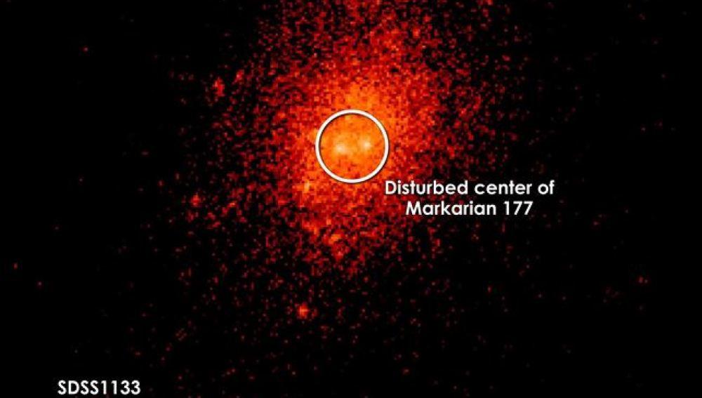 Un telescopio de la NASA indaga en una misteriosa fuente de luz