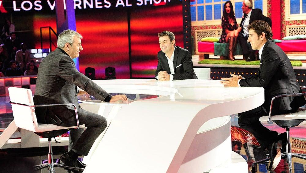 Carlos Sobera en Los Viernes al Show