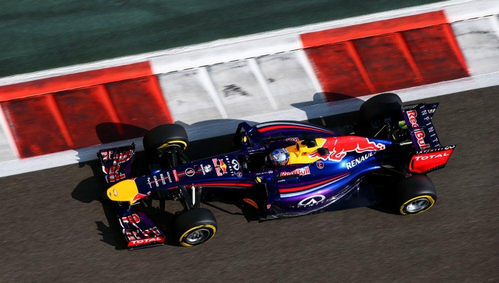 El Red Bull de Vettel, en Abu Dabi