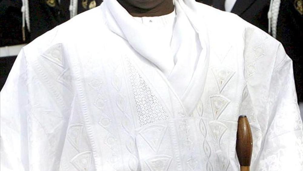El presidente de Gambia, Yahya Jammeh.