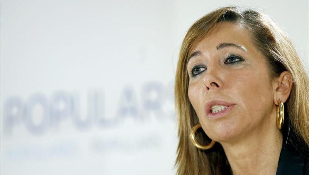Alicia Sánchez-Camacho en un acto en Baix de Llobregat.