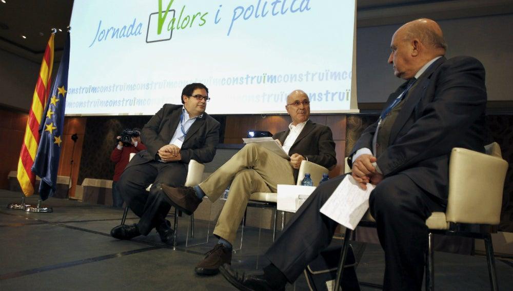 Duran i Lleida, en la 'Jornada Valors i politica'