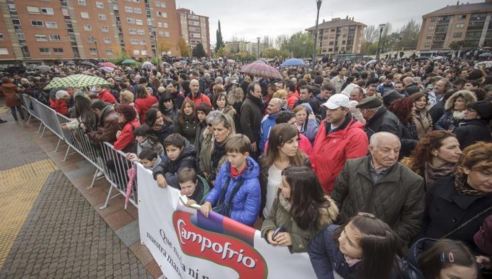 Concentración en Burgos en apoyo a los trabajadores de Campofrío