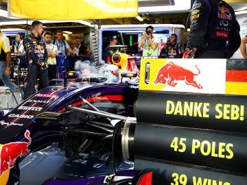 El mensaje de Red Bull para Vettel