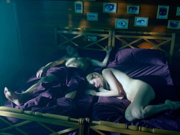 Los chicos desnudos en el cuarto