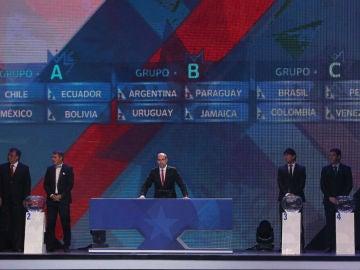 Sorteo de la Copa América 2015