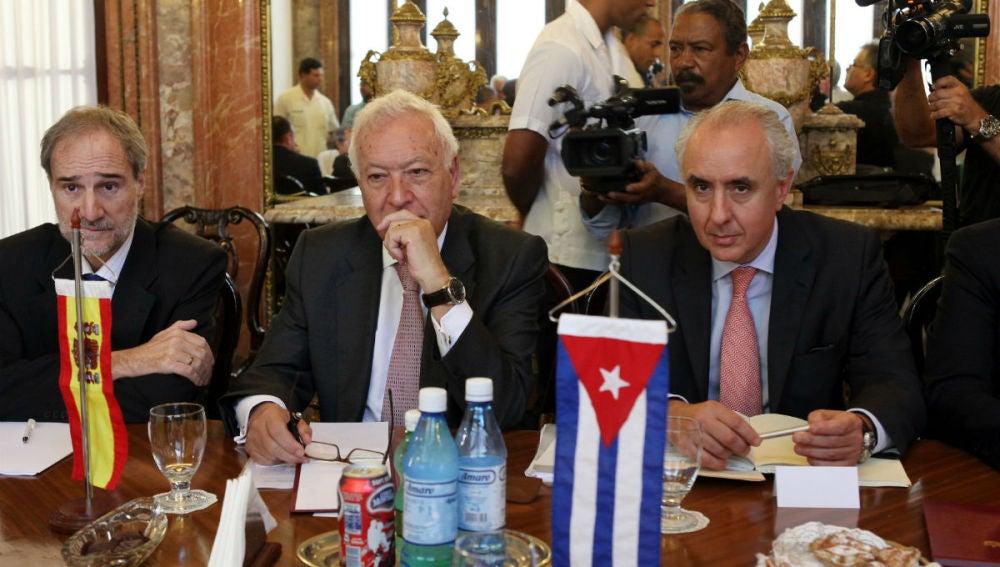 Margallo, reunido con el canciller cubano, Bruno Rodríguez