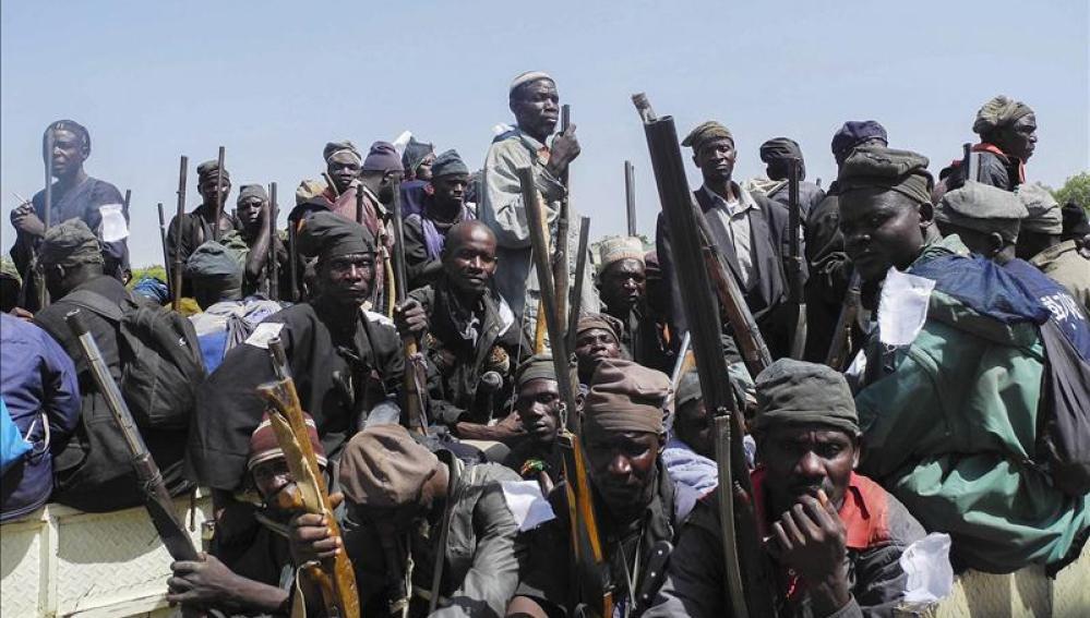 Grupo de vecinos nigerianos contra Boko Haram