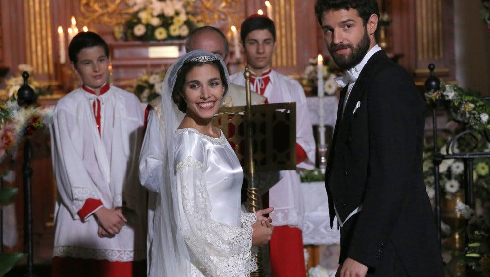Bosco y Amalia se casan