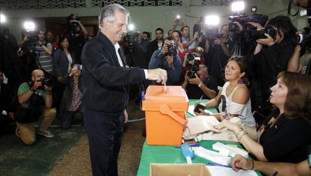 Tabaré Vázquez, candidato electo de Uruguay.
